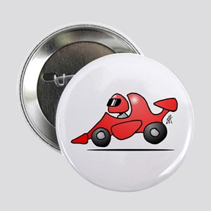 "Red race car 2.25"" Button"