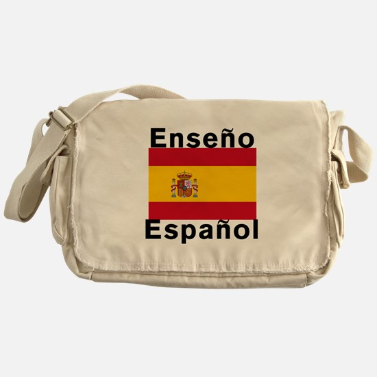 Enseno Espanol Spanish Teacher Bag Messenger Bag