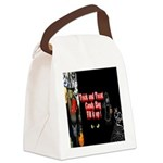 Halloween Witch Trick and Treat Canvas Lunch Bag