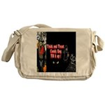 Halloween Witch Trick and Treat Messenger Bag