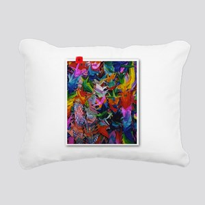 HiroshimaCranesR Rectangular Canvas Pillow