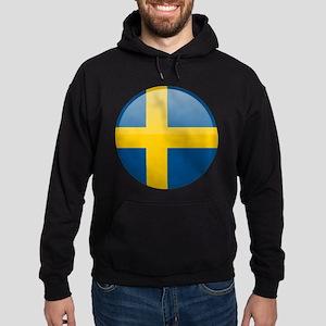 Swedish Button Hoodie (dark)