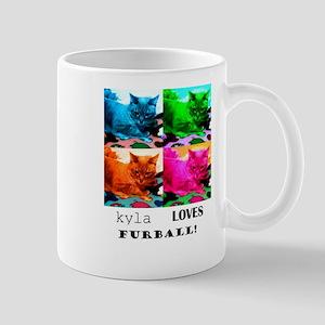 Kyla Loves Furball Mug