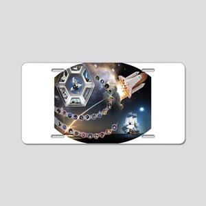 OV 105 Endeavour Aluminum License Plate