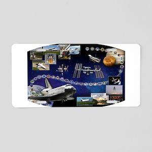OV 104 Atlantis Aluminum License Plate