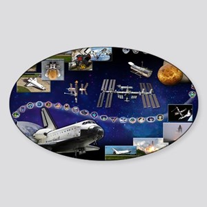 OV 104 Atlantis Sticker (Oval 10 pk)