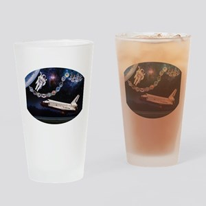Challenger Commemorative Drinking Glass