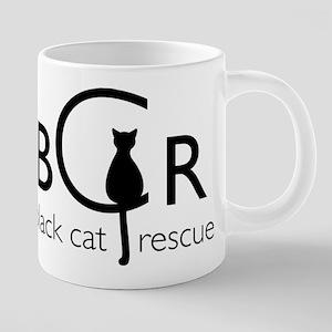Black Cat Rescue Mugs