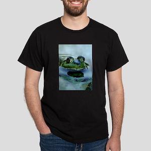 Frog Watching you Watching Me Dark T-Shirt