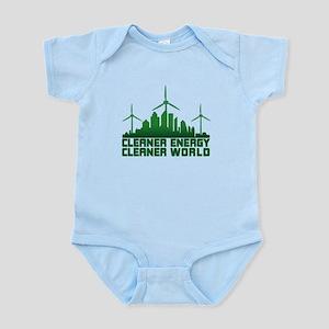 Clean Energy Clean World Infant Bodysuit