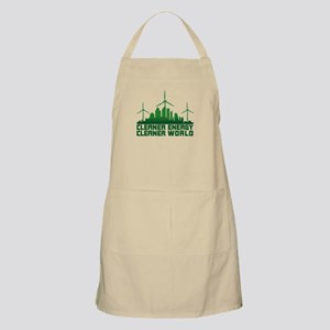 Clean Energy Clean World Apron