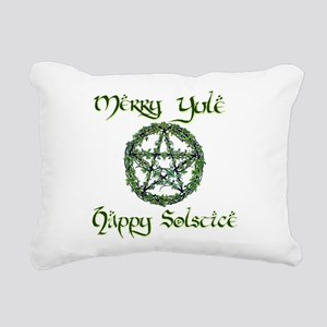 YULE Rectangular Canvas Pillow