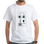 Patent Dec 19 1871 White T-Shirt