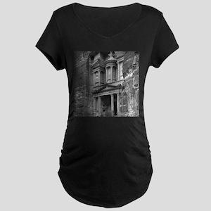 Vintage Petra Maternity Dark T-Shirt