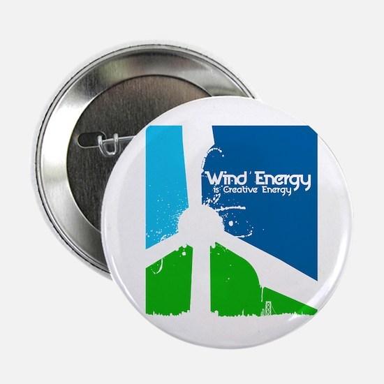 "Wind energy creavtive 2.25"" Button"