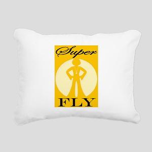 THAT'S SUPER FLY Rectangular Canvas Pillow