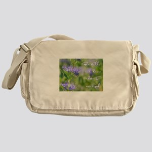 Be still Messenger Bag