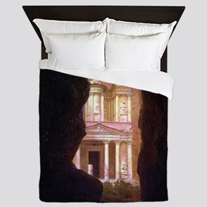 Frederick Edwin Church Petra Queen Duvet