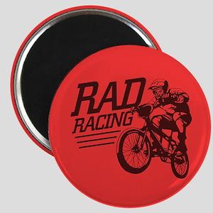 Retro RAD BMX Racing Magnet