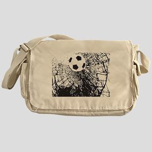 Shattered Glass Ball Messenger Bag