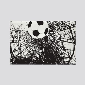 Shattered Glass Ball Rectangle Magnet