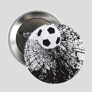 """Shattered Glass Ball 2.25"""" Button"""