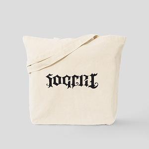 Soccer Futbol Ambigram black Tote Bag