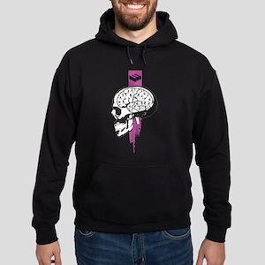 Soccer on the brain Hoodie (dark)