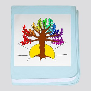The Giving Tree baby blanket