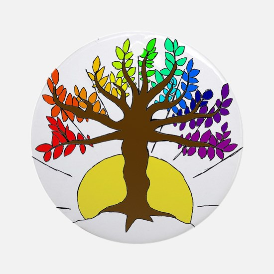The Giving Tree Ornament (Round)