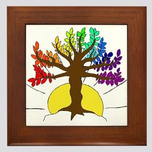 The Giving Tree Framed Tile