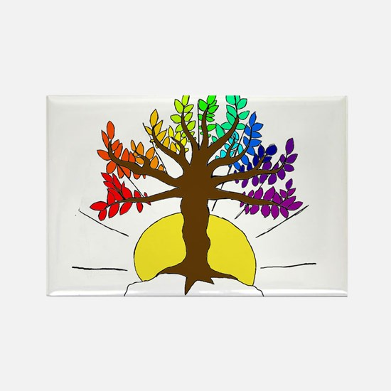 The Giving Tree Rectangle Magnet