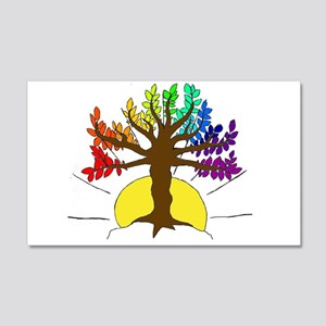 The Giving Tree 20x12 Wall Decal