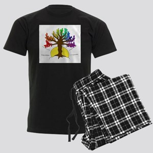 The Giving Tree Men's Dark Pajamas