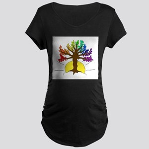 The Giving Tree Maternity Dark T-Shirt
