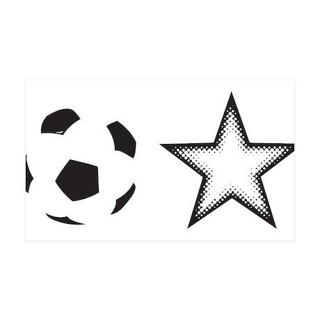Soccer Star 35x21 Wall Decal