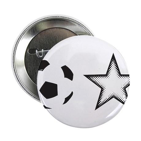 "Soccer Star 2.25"" Button"