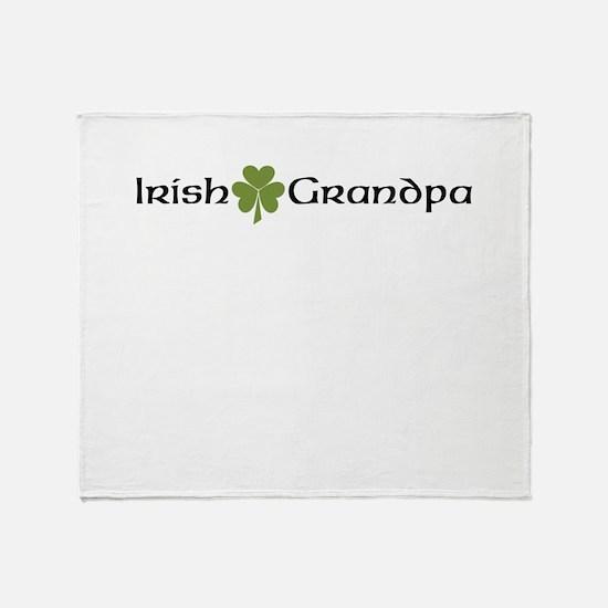Irish Grandpa Throw Blanket