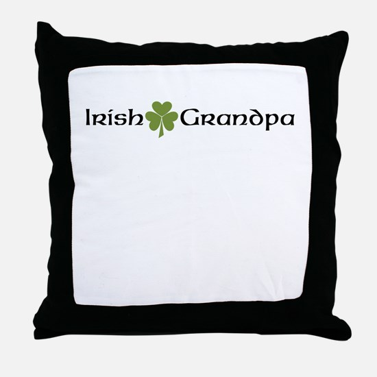 Irish Grandpa Throw Pillow