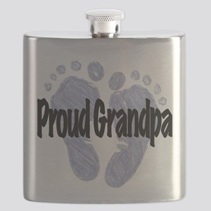 Proud Grandpa (Boy!) Flask