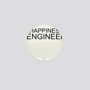 Happiness Is Engineering Mini Button