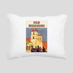 Santa Barbara California Rectangular Canvas Pillow