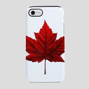 Canada Maple Leaf Souvenir iPhone 7 Tough Case