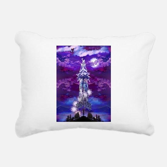 Tower Rectangular Canvas Pillow