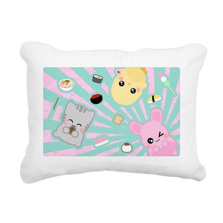 Num Num Rectangular Canvas Pillow