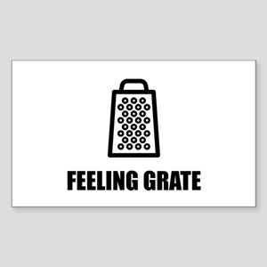 Feeling Cheese Grater Sticker