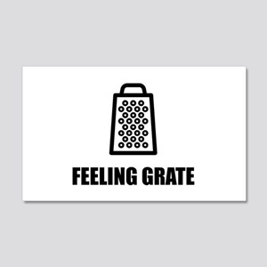 Feeling Cheese Grater Wall Decal