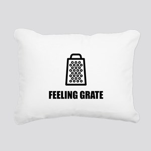 Feeling Cheese Grater Rectangular Canvas Pillow