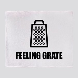 Feeling Cheese Grater Throw Blanket