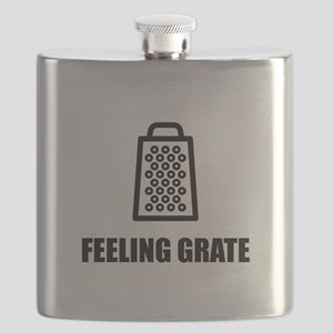Feeling Cheese Grater Flask